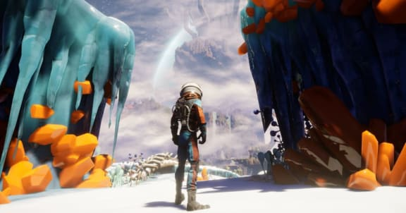Journey to the Savage Planet får online-co-op, släpps i januari!