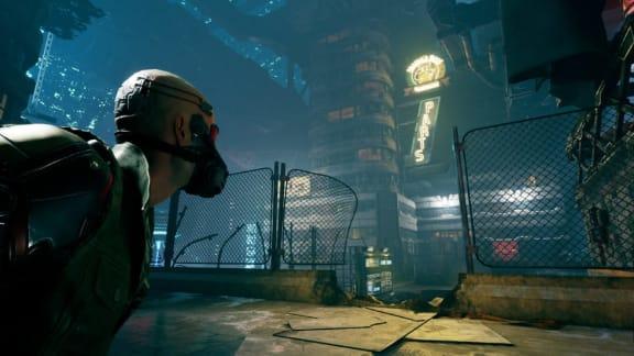 Mirror's Edge möter Deus Ex i ilsnabba Ghostrunner