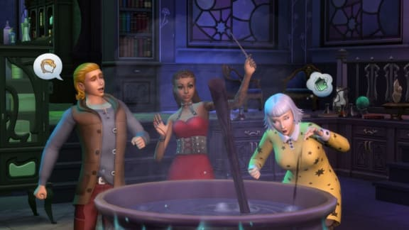 The Sims 4: Realm of Magic visar upp trollformler i ny gameplaytrailer