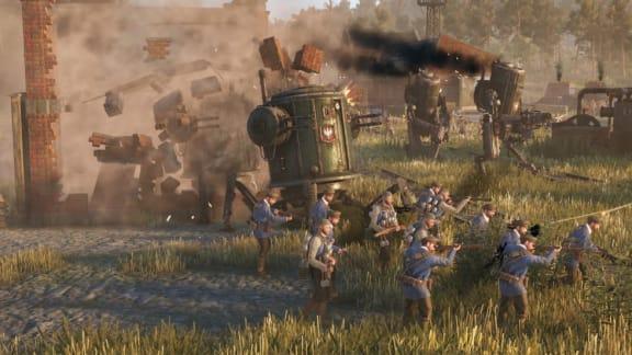 Iron Harvest visar upp spelsekvenser i ny trailer