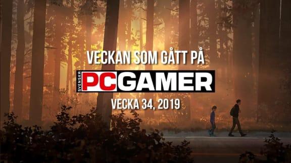 Veckan som gått på PC Gamer (v. 34, 2019)