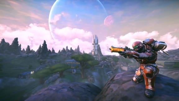 Planetside Arena släpps i early access inom kort, bjuder på battle royale för 300 spelare