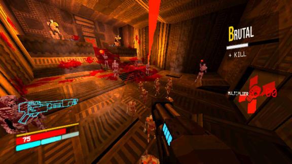 Ultrakill är ett ultrasnabbt retro-fps, spelbar demo är ute nu