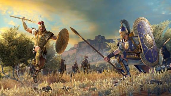Här är utannonseringstrailern för Total War Saga: Troy