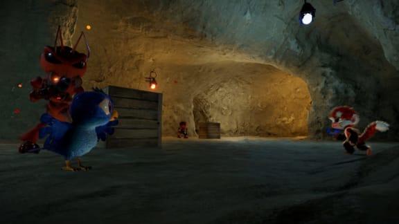 Tamarin visar upp gullig men skjutglad apa i nya gameplay-trailern