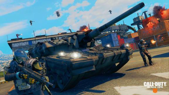 Battle royale-läget i Call of Duty: Black Ops 4 får stridsvagnar inom kort