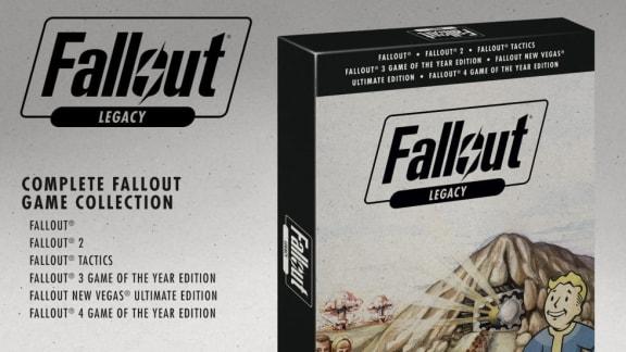 Fallout-samlingen finns på riktigt, men den släpps bara i Storbritannien och Tyskland