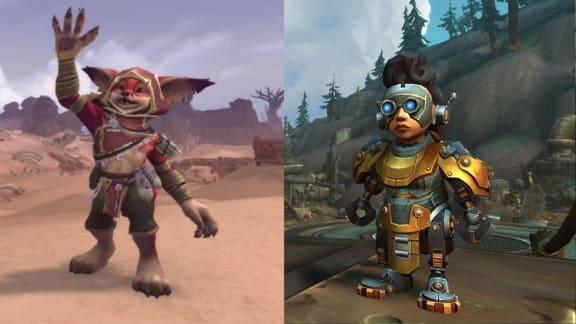 World of Warcraft har avtäckt två nya spelbara raser!