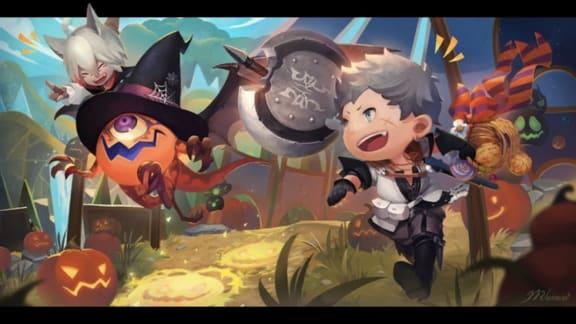 Final Fantasy XIV firar halloween med cirkusevent!