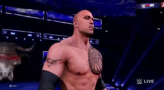 WWE 2K20 inledde 2020 ännu mer trasigt än normalt