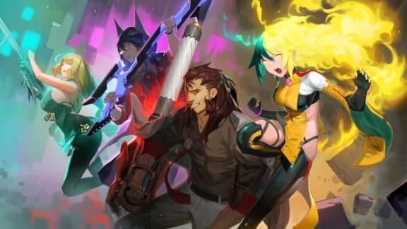 Färgsprakande animebrawlern Dusk Diver är ute nu