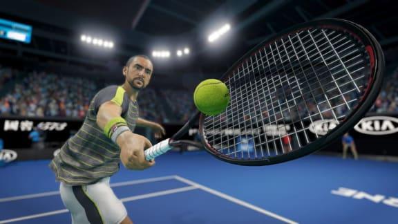 Får det lov att vara lite tennis? Kolla in AO Tennis 2!