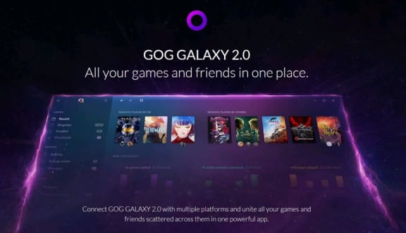 GOG Galaxy 2.0 är ute nu i öppen beta