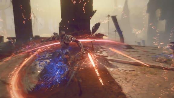 Platinum Games-utvecklade Babylon's Fall återuppstår i ny trailer