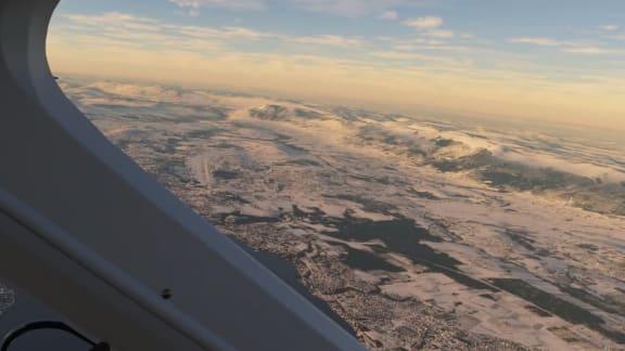 Se det snöar i Microsoft Flight Simulator!