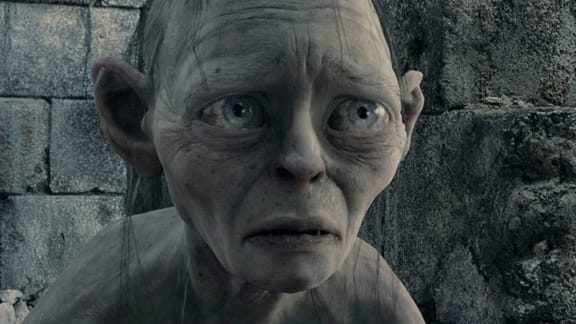 Gollum ser inte ut som Gollum i Gollum-spelet
