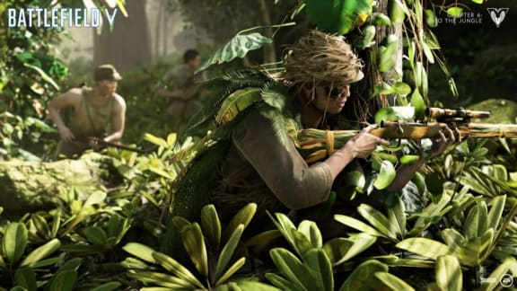 Battlefield V: Chapter 6 drar till djungeln nästa vecka