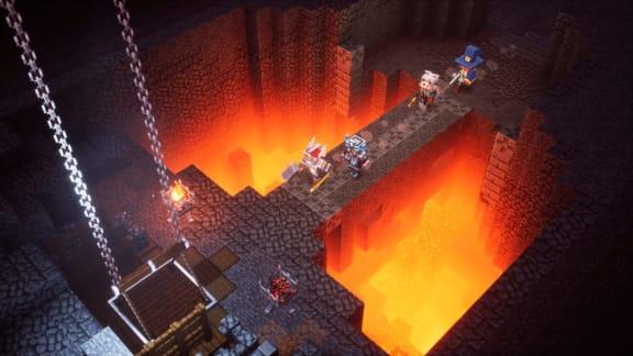 Ny utvecklardagbok om Minecraft Dungeons belyser miljöerna
