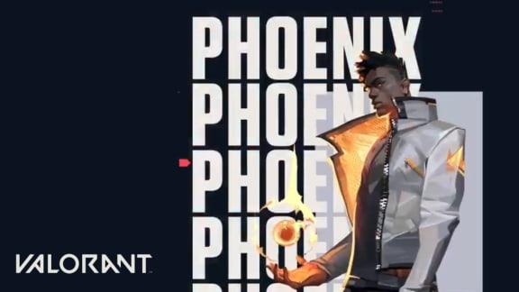 Valorant visar upp Phoenix eldfängda färdigheter i ny trailer