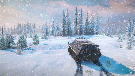 Snowrunner visar upp första årets dlc i ny trailer