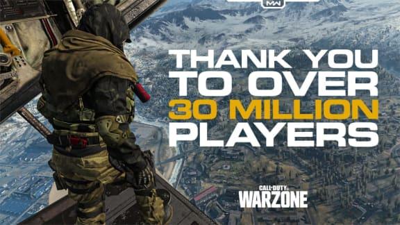 Call of Duty: Warzone har redan passerat 30 miljoner spelare