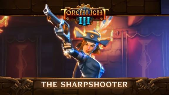 Torchlight 3 presenterar karaktärsklassen Sharpshooter