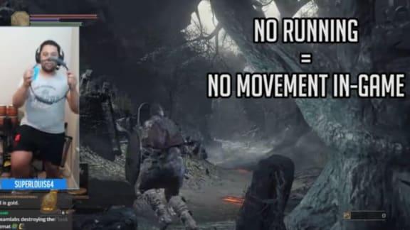 Moddare spelar Dark Souls 3 med Ring Fit Adventure-ringen!