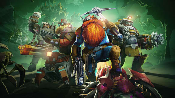 Deep Rock Galactic – Recension
