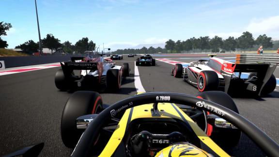 F1 2020 visar gameplay i dess första (andra) gameplay-trailer