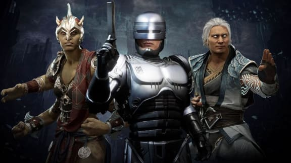 Robocop rensar upp i gameplay-trailer för Mortal Kombat 11: Aftermath
