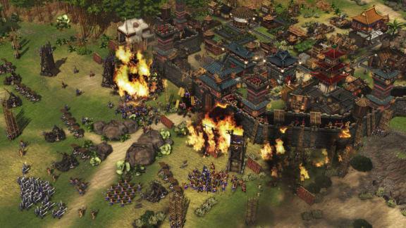 Här är 40 minuter från kampanjen i Stronghold: Warlords