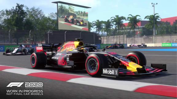 F1 2020 premiärvisar den nya Hanoi-banan i Vietnam