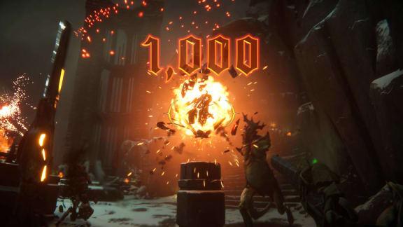 Om Doom vore ett rytmspel – kolla in Metal: Hellsinger!