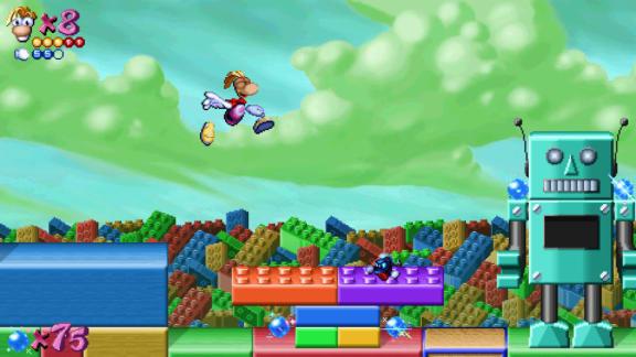 Fanutvecklad Rayman-remake är ute nu, inkluderar mängder av nytt innehåll