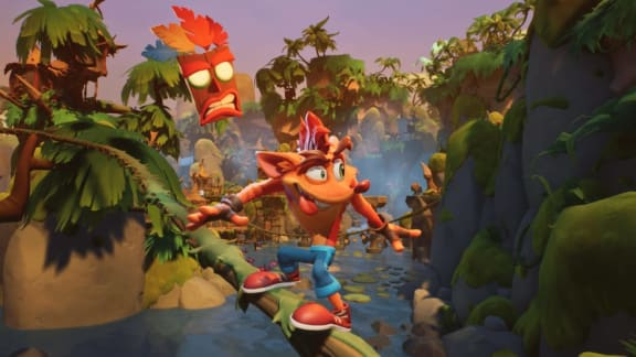 Crash Bandicoot 4: It's About Time släpps i höst, men bara till konsol