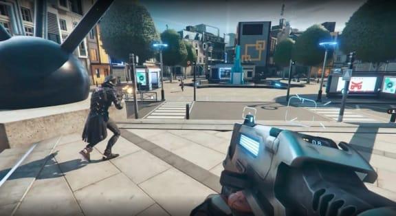 Battle royale-skjutaren Hyper Scape har lanserats i öppen beta