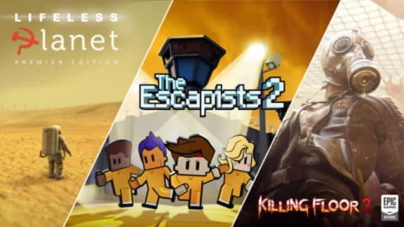 Killing Floor 2, Lifeless Planet och The Escapists 2 är Epic-gratis