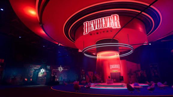 """""""Marknadsföringssimulatorn"""" Devolver Expo är gratis och ute nu"""