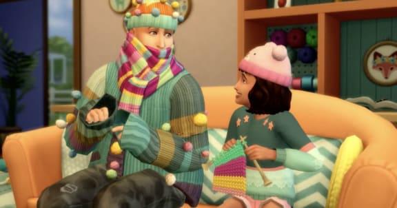 The Sims 4: Nifty Knitting släpps den 28 juli, kolla in trailern