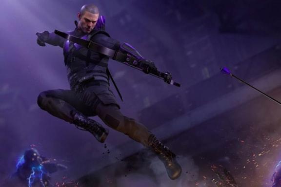 Hawkeye kommer till Marvel's Avengers som gratis dlc efter lanseringen
