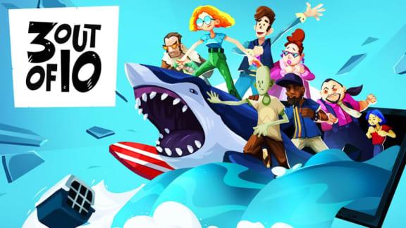 Hyperfärska spelutvecklingskomedin 3 out of 10 är också Epic-gratis