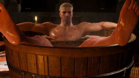 Bekräftat: Netflix The Witcher-serie kommer ha ett badkar!