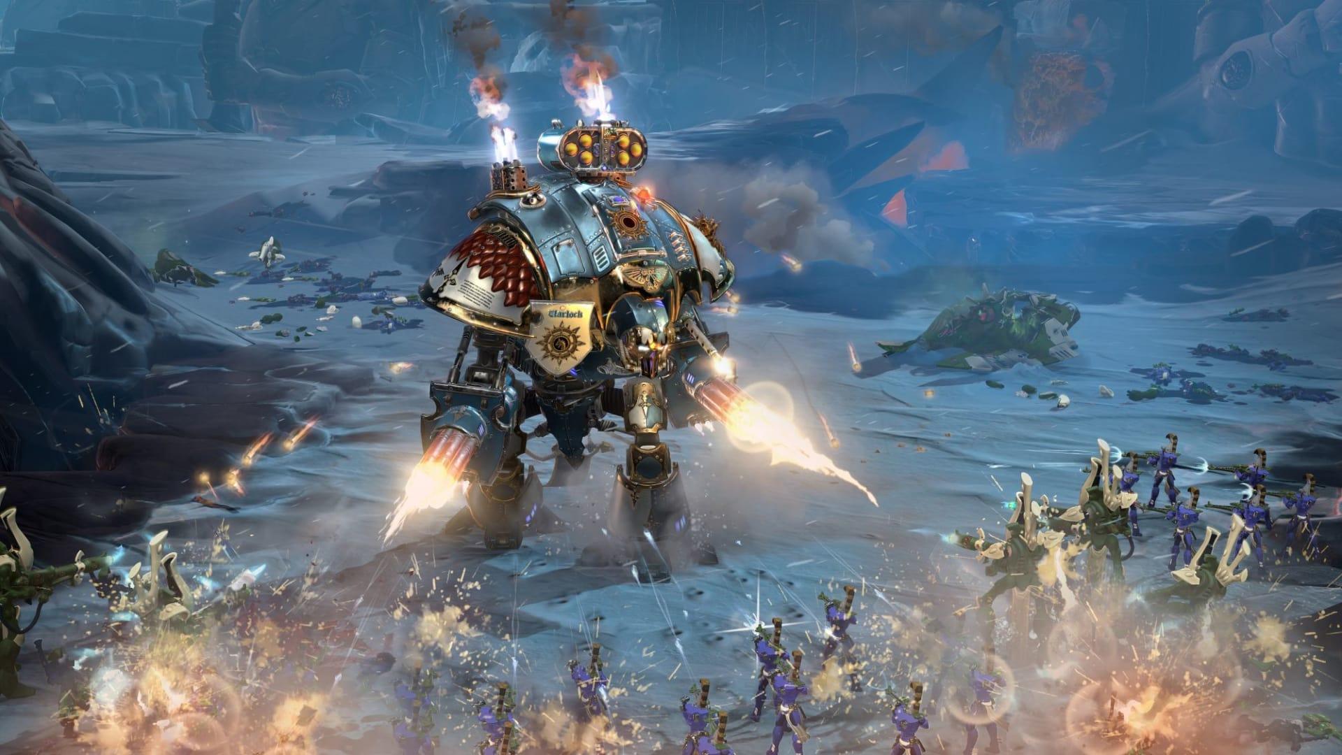 Anmäl dig till den öppna Dawn of War 3-betan