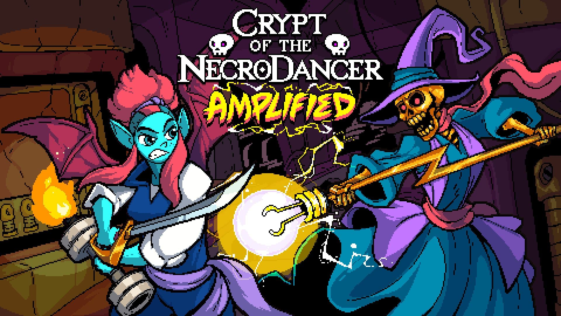 Crypt of the NecroDancer släpper dlc:t Amplified via early access