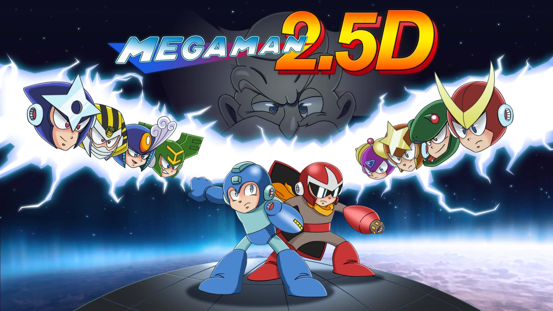 Svenskutvecklad Mega Man-hyllning ute nu