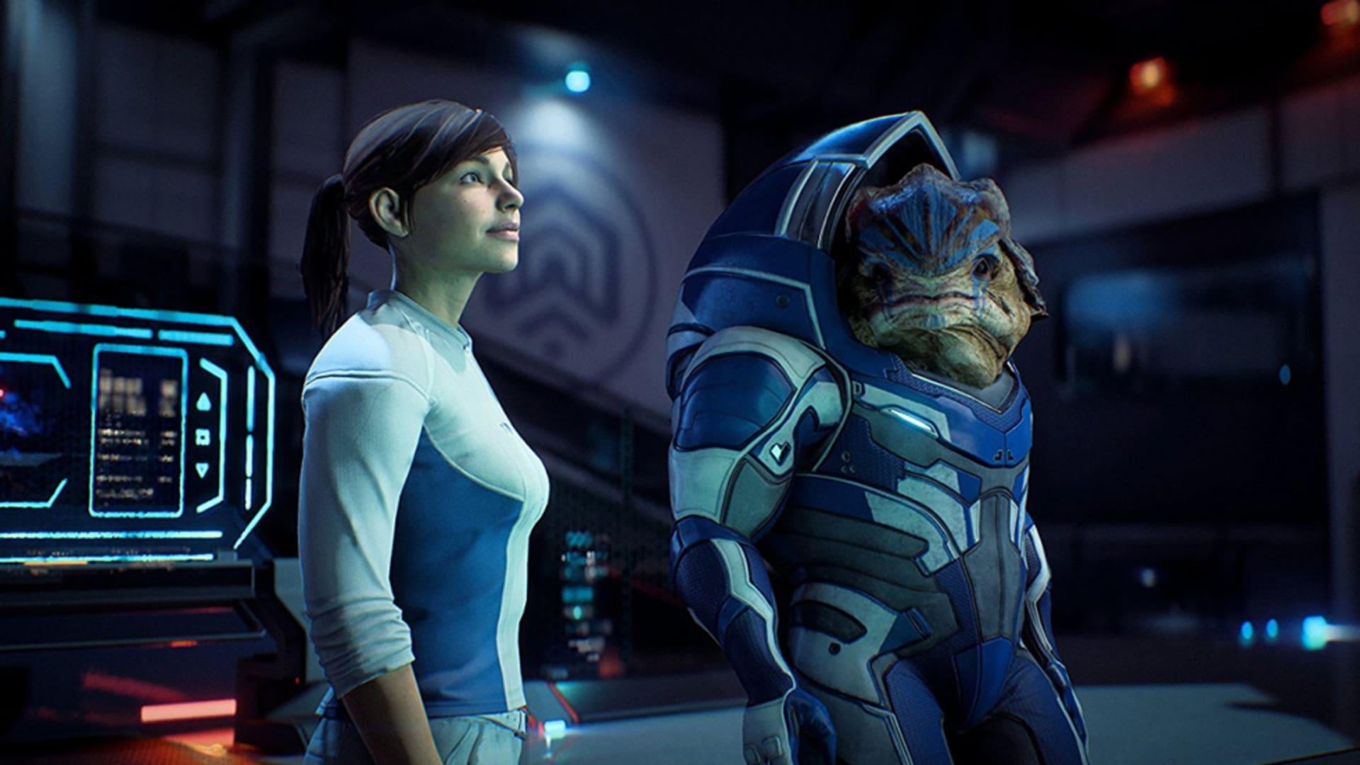 Nya vyer från Mass Effect: Andromeda