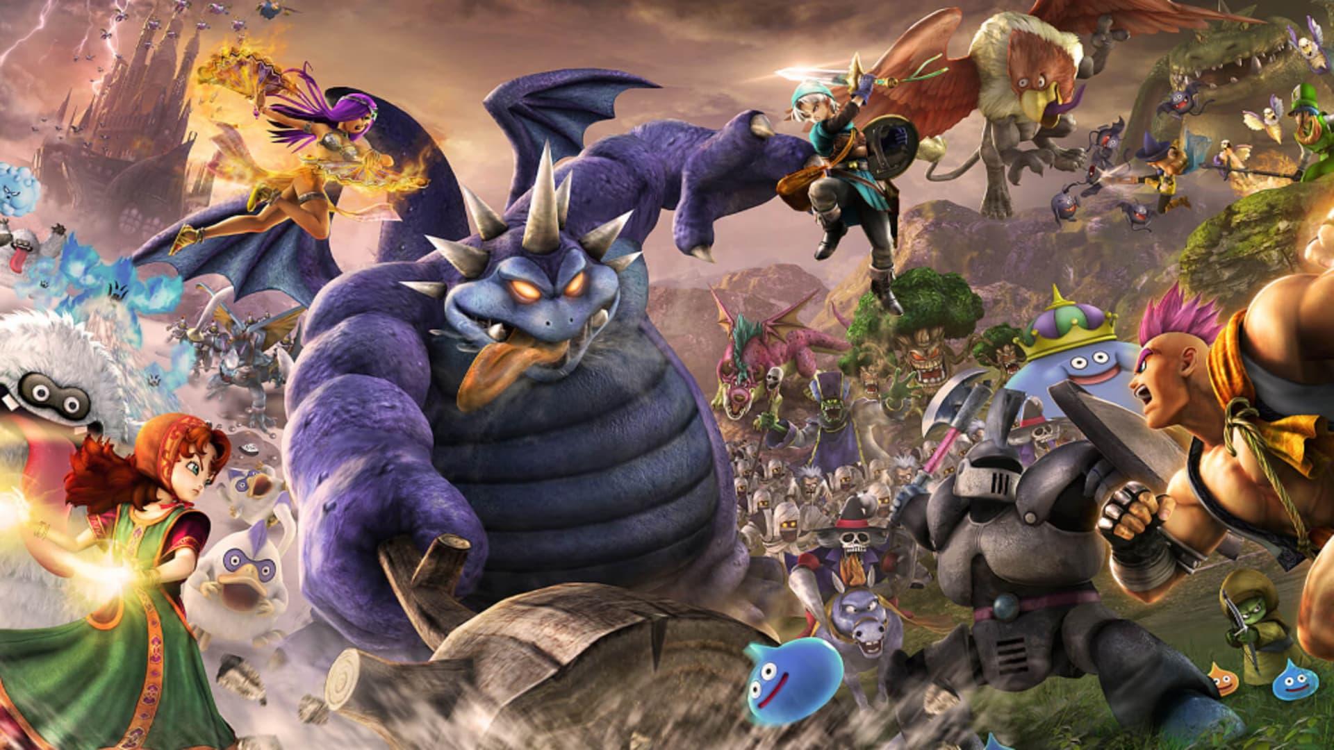 Dragon Quest Heroes II även till pc