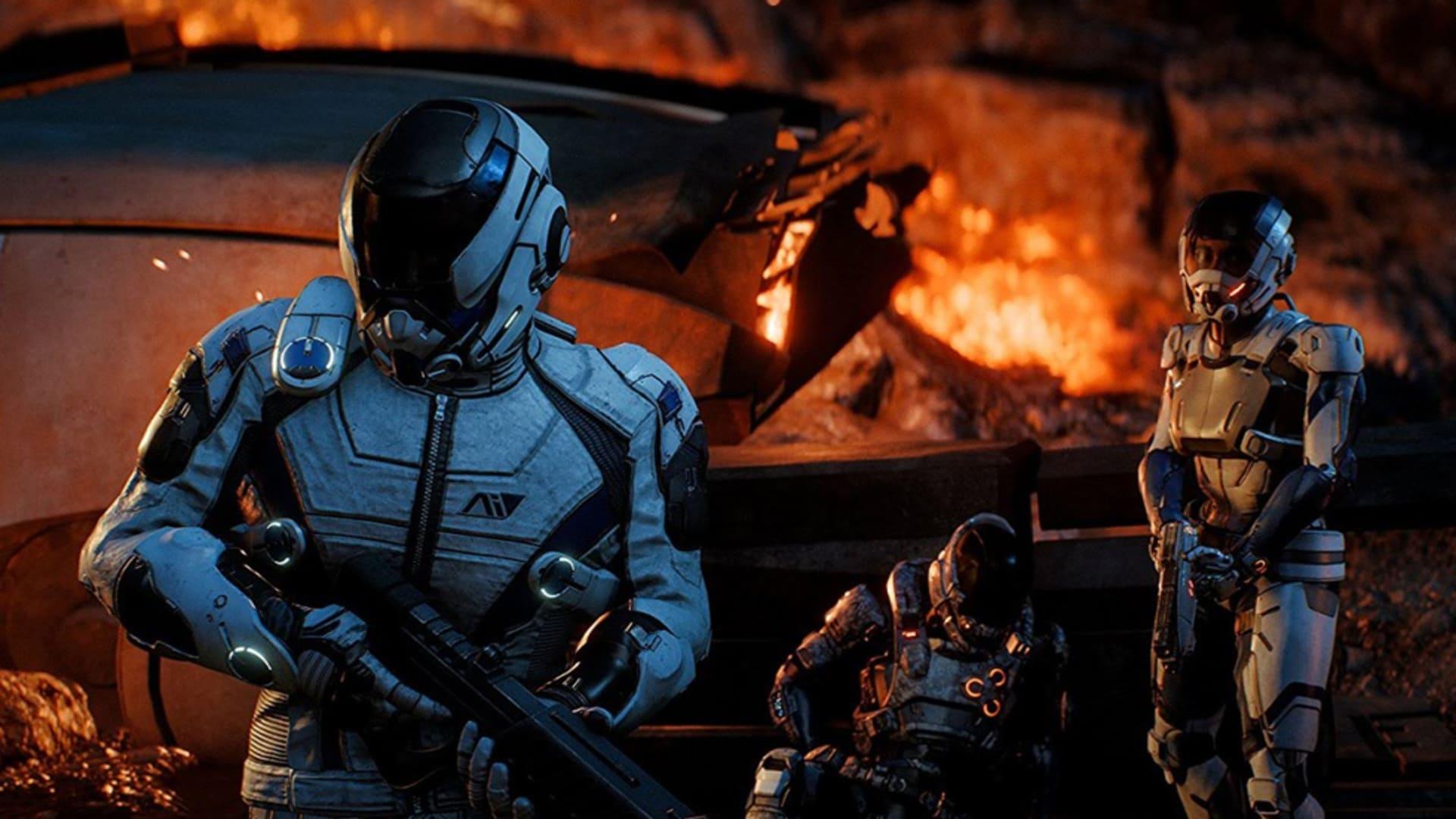 """""""Större delen"""" av Mass Effect: Andromeda tillgänglig även efter storyns slut"""