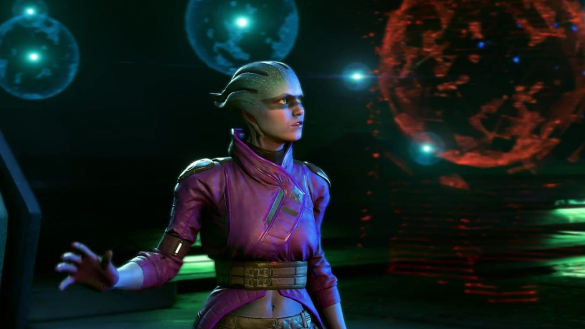 I Mass Effect: Andromeda kan du prata med 1200 olika karaktärer