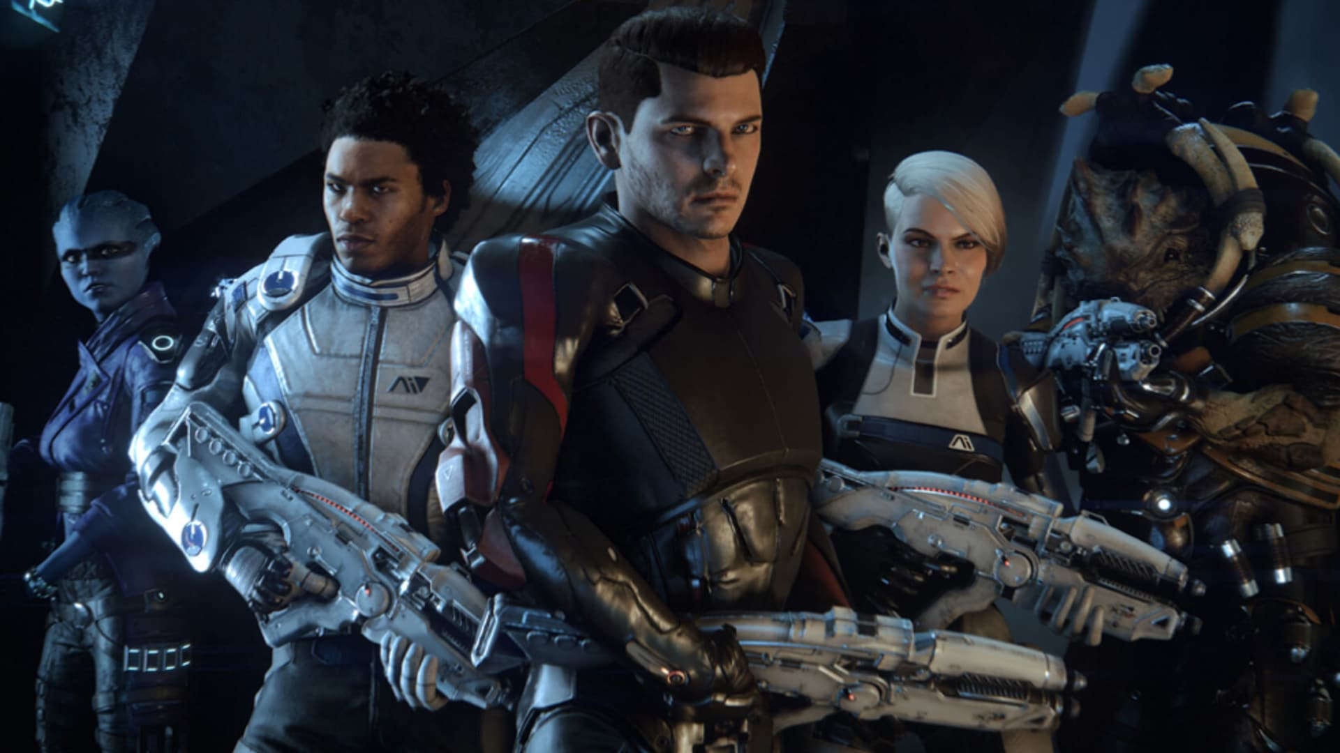 Boom! Lanseringstrailer för Mass Effect: Andromeda